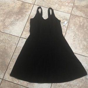 NWT Black Cotton Summer Dress